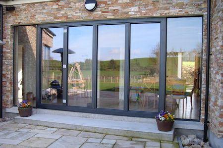 New and Replacement Aluminium Clad Timber Doors Range