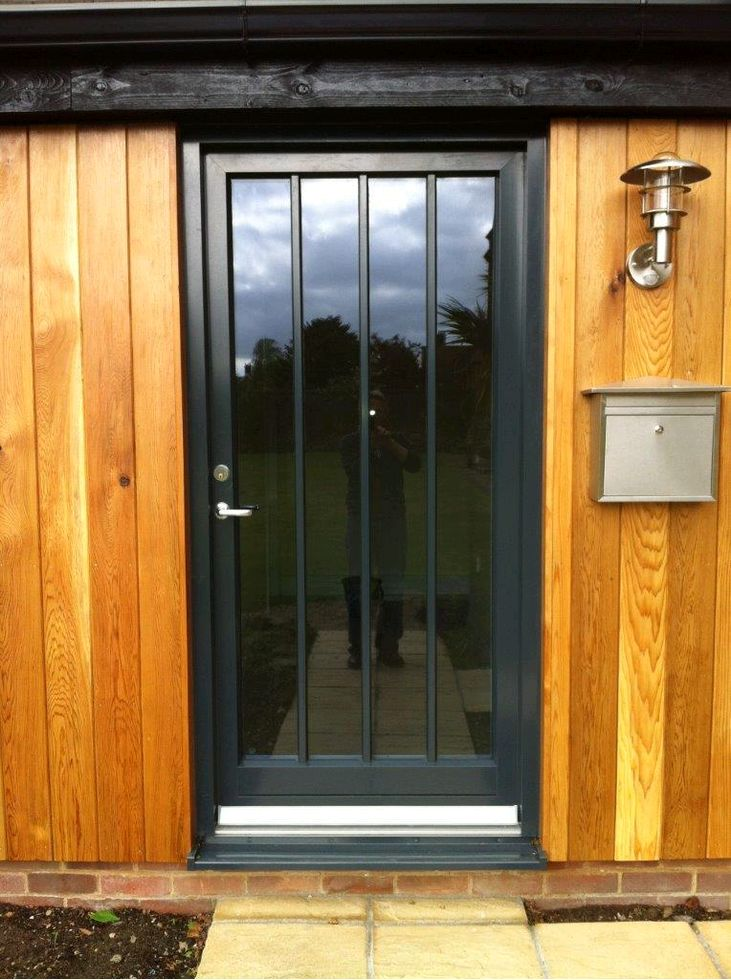 Aluminium Timber Entrance Door & Aluminium-Clad Doors Gallery