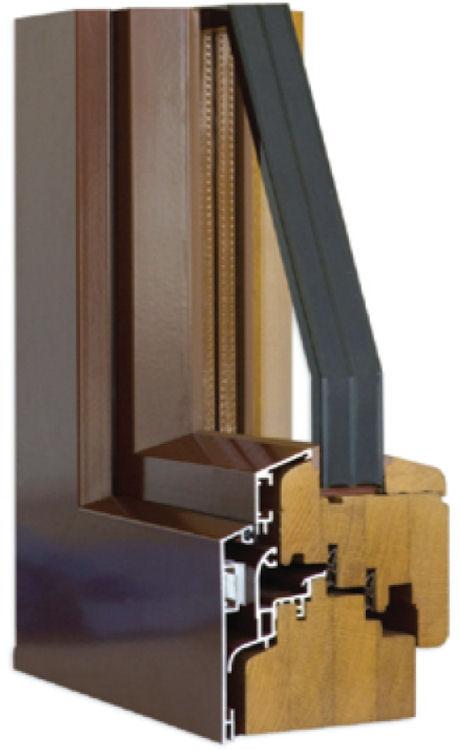 Aluminium clad inward opening tilt and turn windows for Window cladding