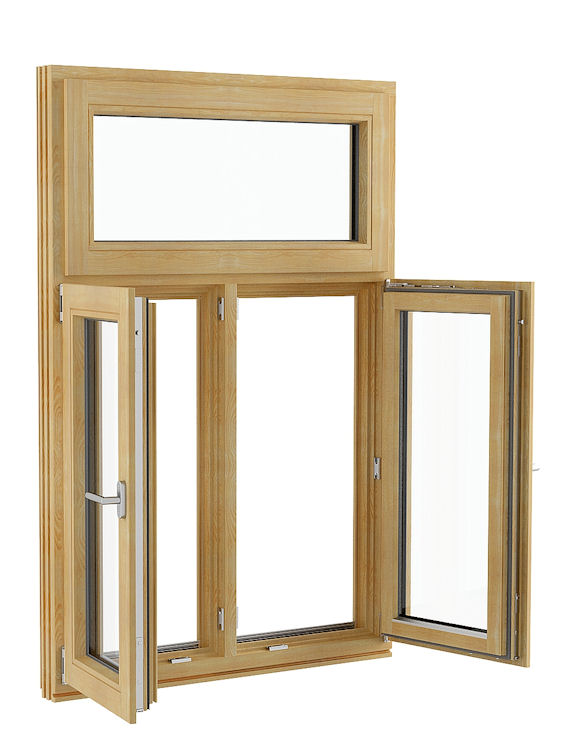 Inward Opening Tilt And Turn Timber Window Function