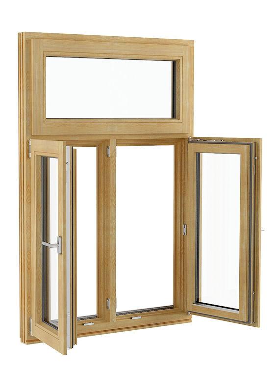 Tilt Turn Casement Window : Inward opening tilt and turn timber windows
