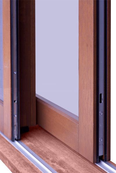 Wooden Lift And Slide Doors And Aluminium Clad Lift And
