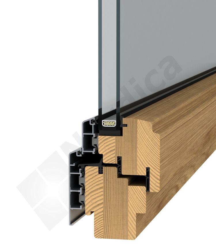 Aluminium-clad Inward Opening (Tilt And Turn) Windows