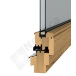 Flexible: our tilt & turn profile can also be used for balcony doors