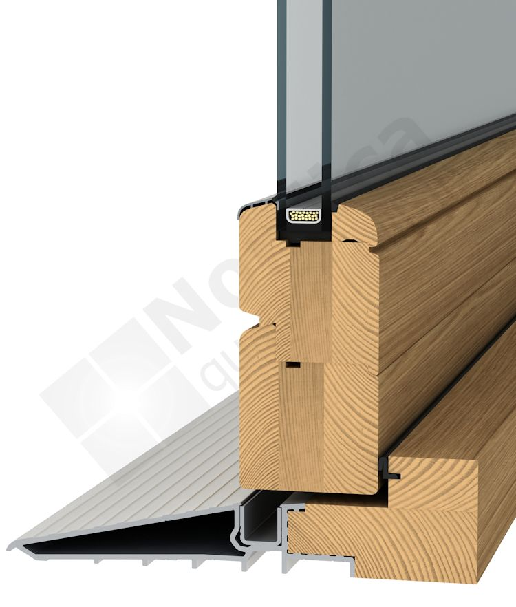 Wooden Fold And Slide Doors And Aluminium Clad Fold And