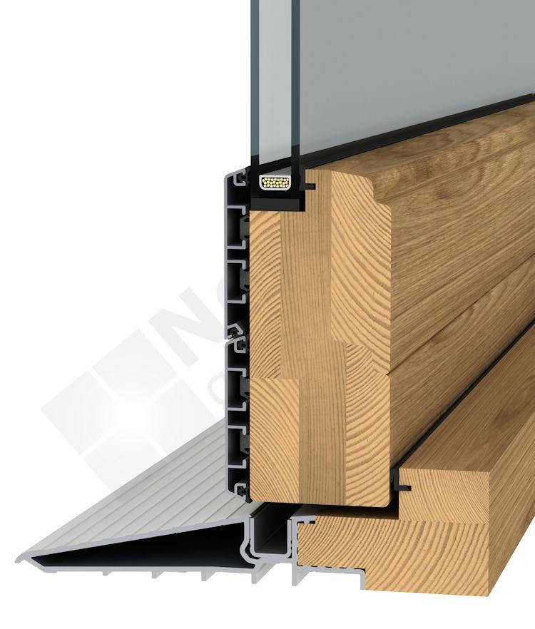 Oak patio door threshold modern patio outdoor for Door threshold