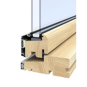 Aluminium Clad Outward Opening Timber Windows