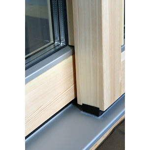 wooden lift and slide doors and aluminium clad lift and slide doors